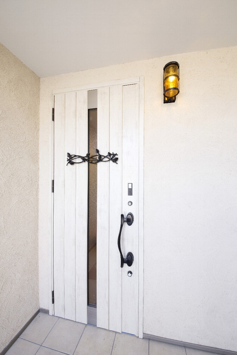 お洒落な雰囲気の玄関