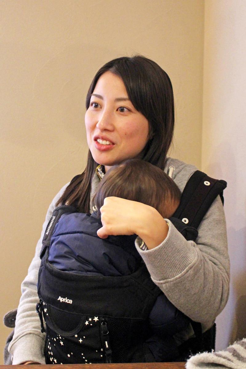 妻・智美さん