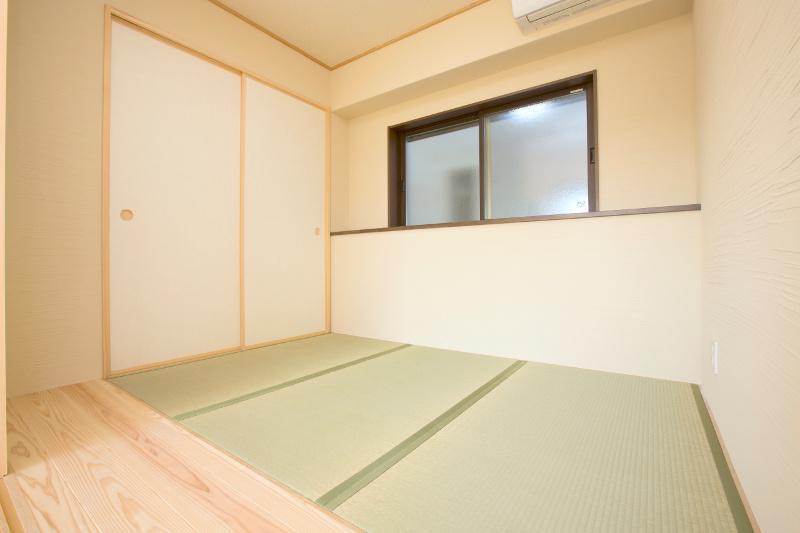 和室。リビングとは襖で仕切れます