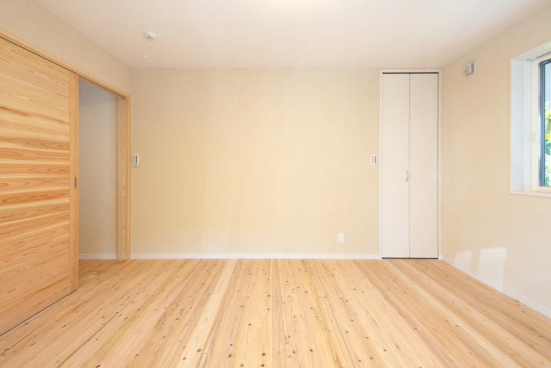 洋室。ともて明るいです