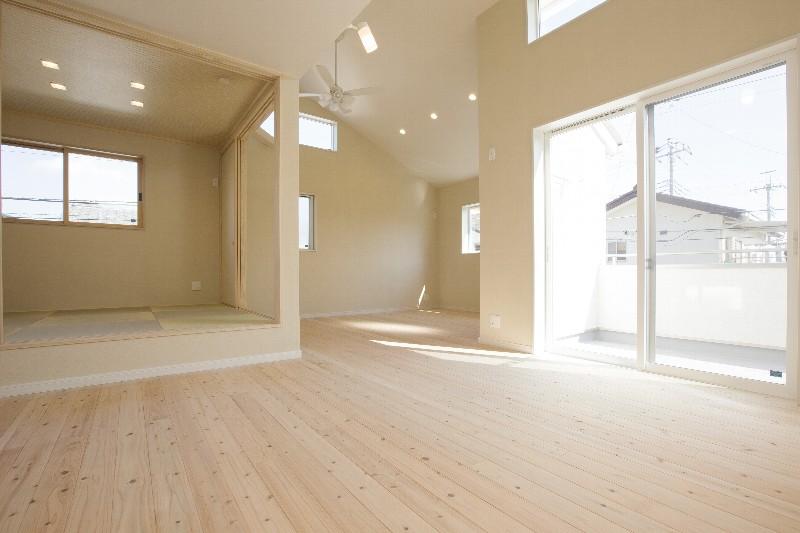 和室の横にもスペースを確保