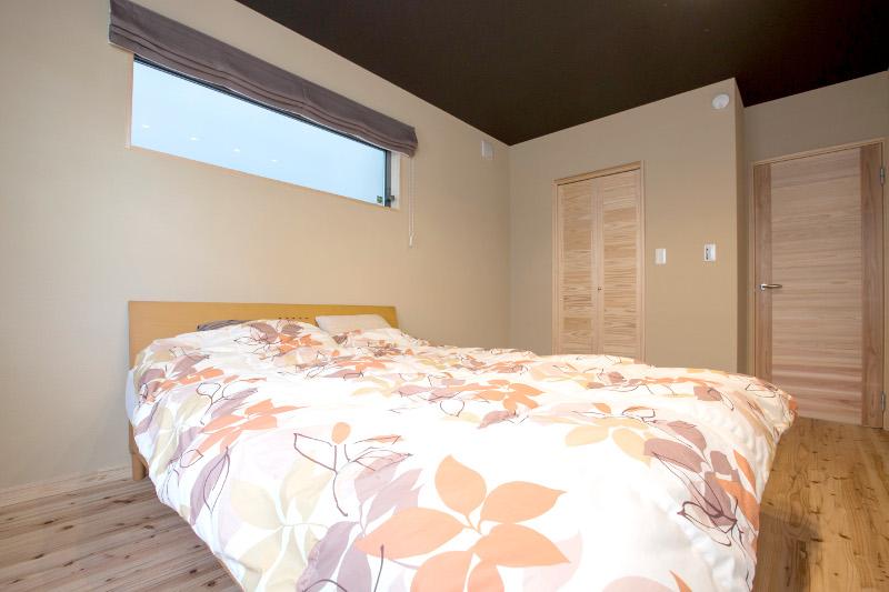 究極の寝室。「眠りの質が変わった」「夜中に目が覚めない」とご好評を頂いています