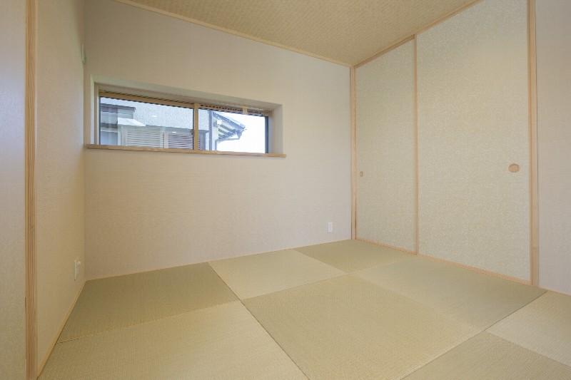 和室スペースは落ち着いた雰囲気です