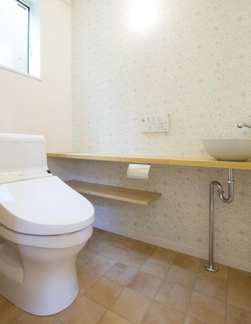 こだわりのトイレ