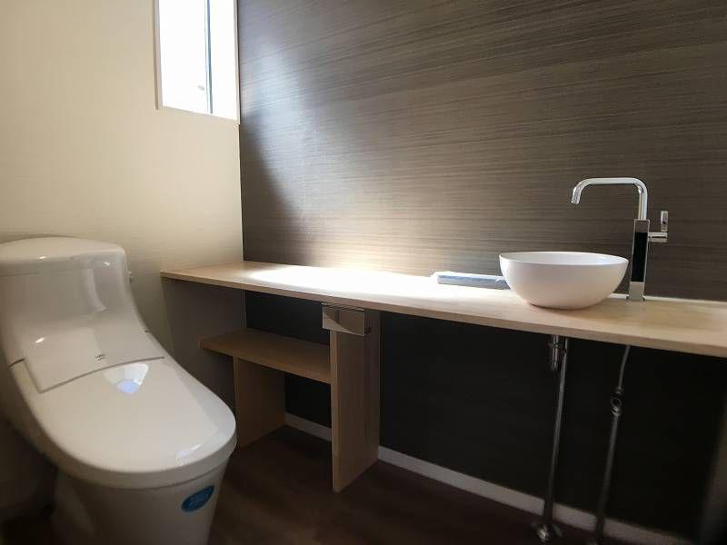 ホテルの空間を思わせる快適な「究極のトイレ」