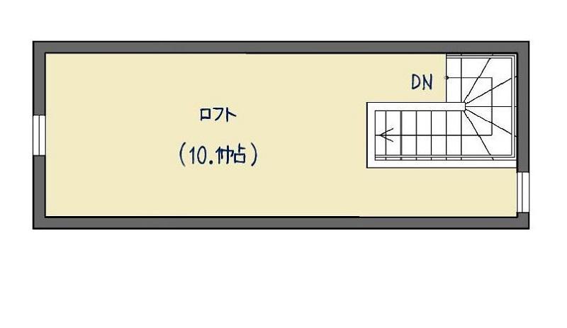 ロフト間取図