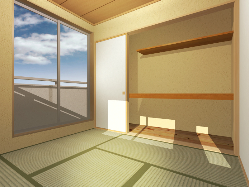 2F和室(部屋入口から)