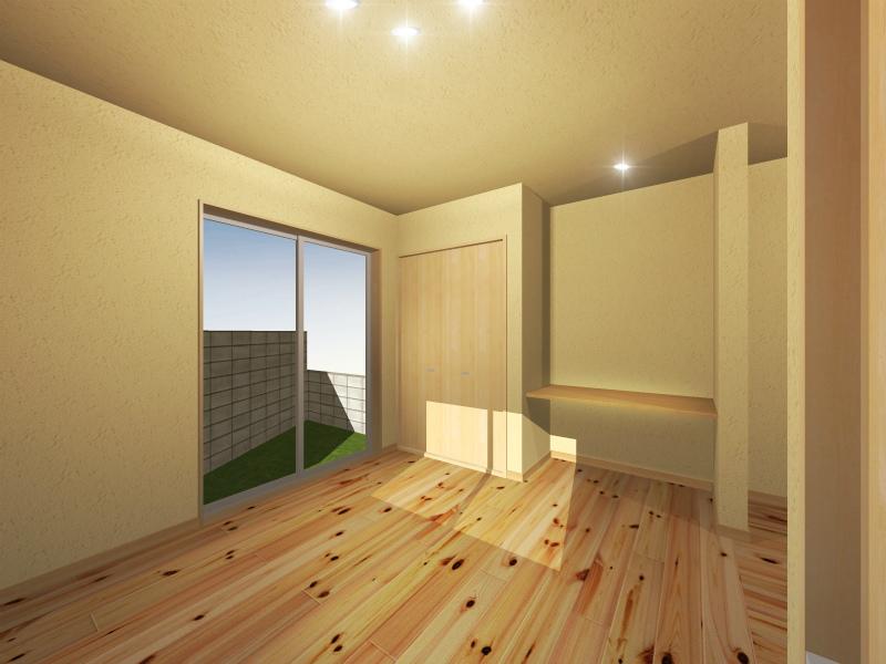 1F洋室(中央から左手)