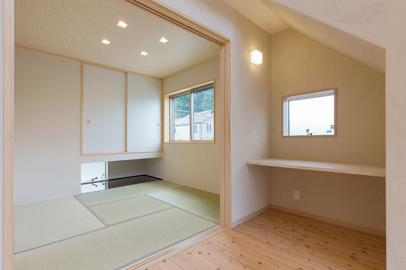 1F和室(部屋入口から)