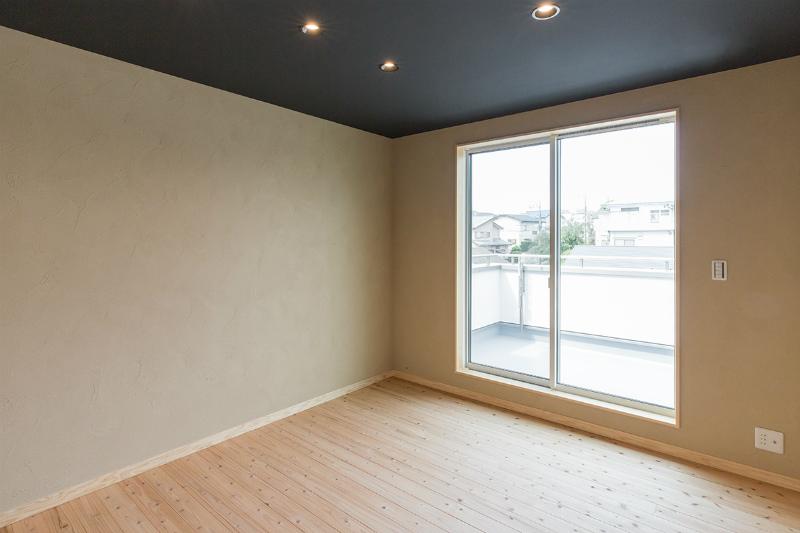 2F究極の寝室(部屋入口右から)