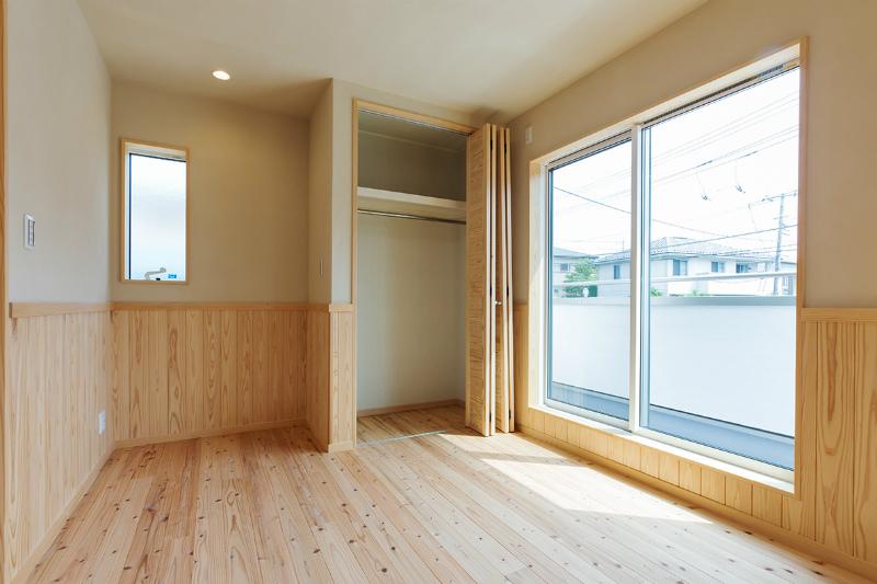 2F究極の子供部屋(部屋入口右から)