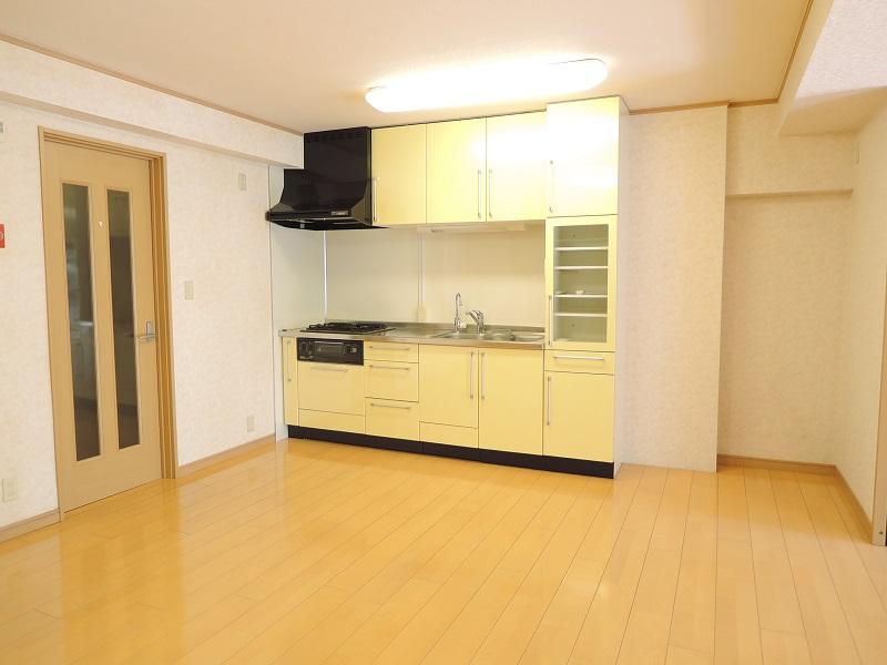 キッチン斜め